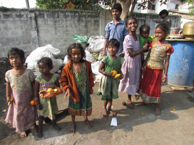 Vijayawada slums, Andhra Pradesh, KISES